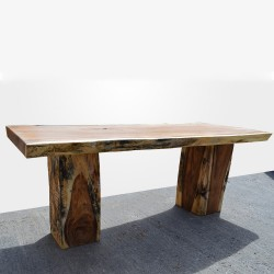 Table en bois de Suar 220cm (SUAR03-220)