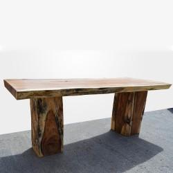 Table en bois de Suar 220cm (SUAR03-220)