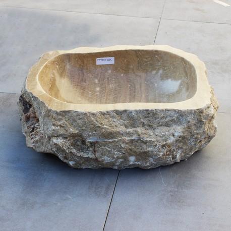 Vasque à poser en onyx 45-35 cm (ONYX45-003)