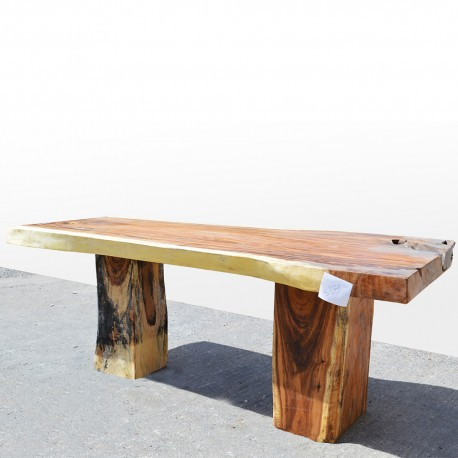 Table en bois de Suar 220cm (SUAR05-220)