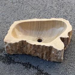 Vasque à poser en onyx 56-32 cm (ONYX55-002)