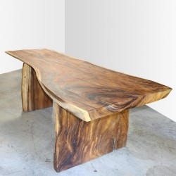 Table en bois de Suar 220cm (SUAR06-220)