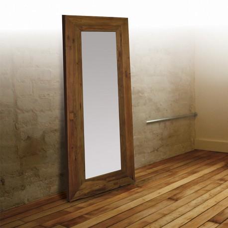 Miroir en Teck massif 200 cm (MRC007)