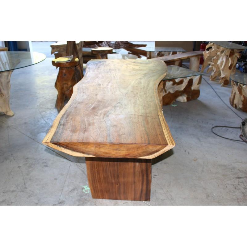 Table en bois de Suar 220cm (SUAR06220) -> Model De Table En Bois