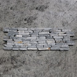 Mosaïque Frise 10x30 otago or marble grey (MOS024)