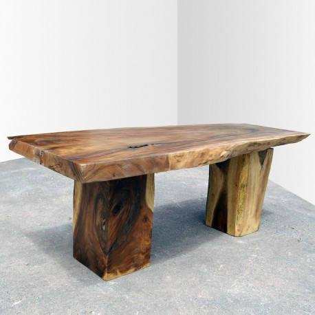 Table en bois de Suar 220cm (SUAR07-220)