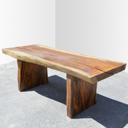 Table en bois de Suar 220cm (SUAR08-220)