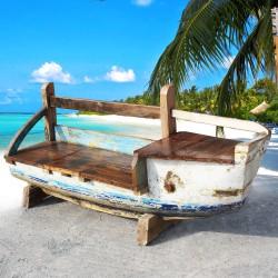 Banc véritable barque de bateau (BARQUE-006)