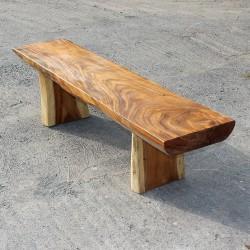 Banc en bois de Suar 180 cm (BSUAR180-012)