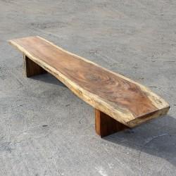 Banc en bois de Suar 280 cm (BSUAR280-020)