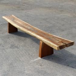 Banc en bois de Suar 280 cm (BSUAR280-021)