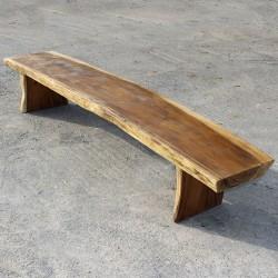 Banc en bois de Suar 280 cm (BSUAR280-022)