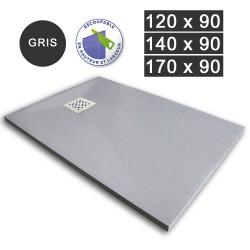 Receveur de douche extra-plat en résine 120/140/170 x 90 Gris (REC-GRIS)