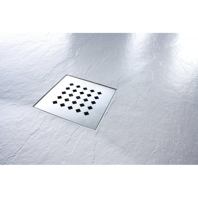 receveur de douche extra plat en r sine 120 140 170 x 90 gris rec gris. Black Bedroom Furniture Sets. Home Design Ideas