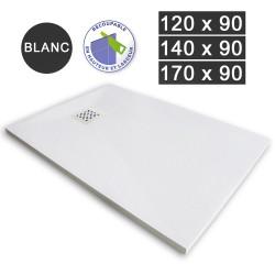 Receveur de douche extra-plat en résine 120/140/170 x 90 Blanc (REC-BLANC)