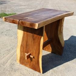 Table haute en Suar massif 145x80 cm (SUAR3502)
