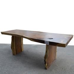 Table en bois de Suar 220cm (SUAR09-220)