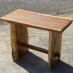 Table haute en Suar massif 140x70 cm (SUAR3503)