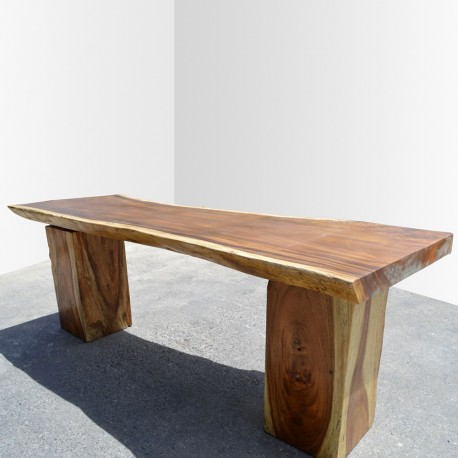 Table en bois de Suar 220cm (SUAR10-220)