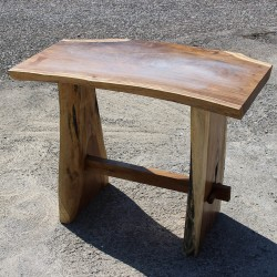 Table haute en Suar massif 140x70 cm (SUAR3505)