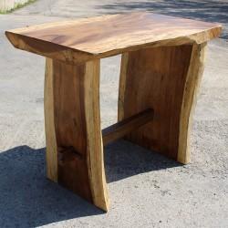 Table haute en Suar massif 140x75 cm (SUAR3507)