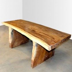 Table en bois de Suar 200cm (SUAR13-200)