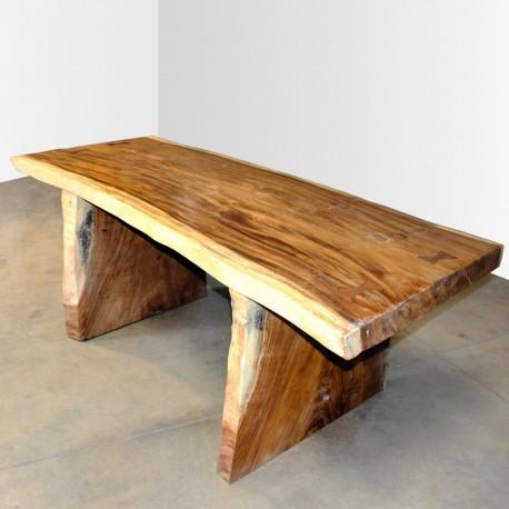 Table en bois de Suar 200cm (SUAR13-200)