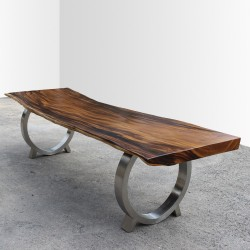 Table en bois de Suar 300cm (SUAR24-300)