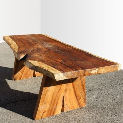 Table en bois de Suar 220cm (SUAR13-220)
