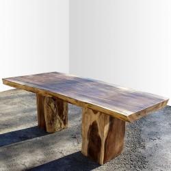 Table en bois de Suar 220cm (SUAR14-220)