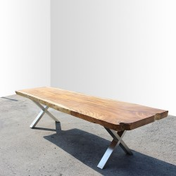 Table en bois de Suar 300cm (SUAR28-300)