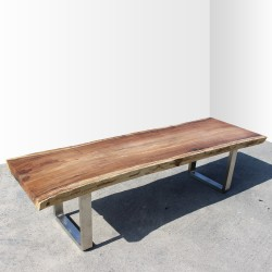 Table en bois de Suar 300cm (SUAR30-300)