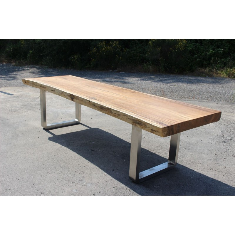 Table en bois de Suar 300cm (SUAR30300) -> Model De Table En Bois