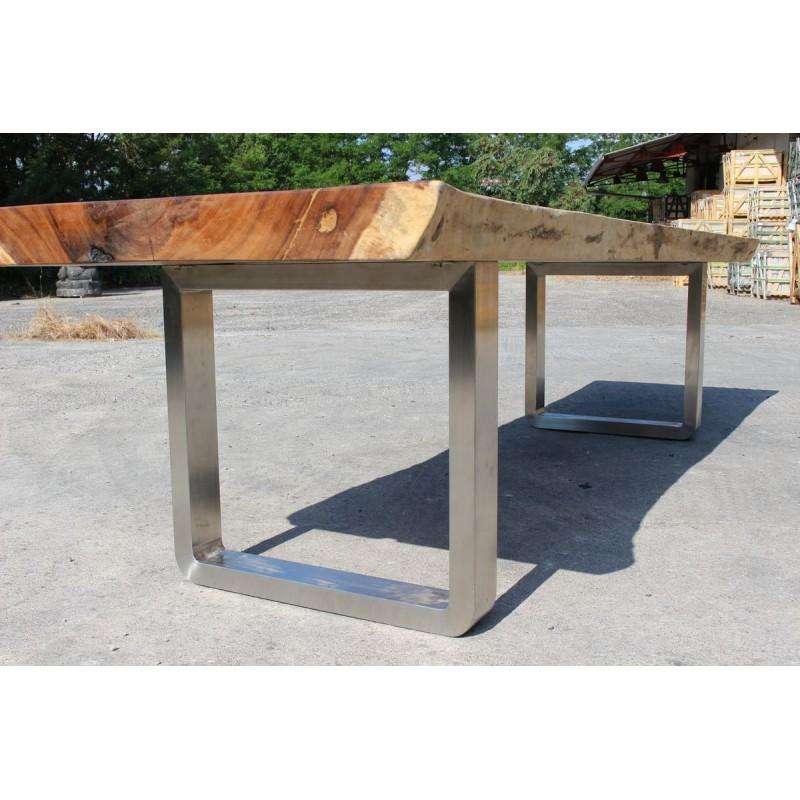 Table en bois de Suar 300cm (SUAR30300)
