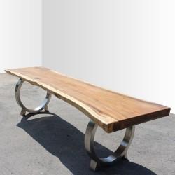 Table en bois de Suar 300cm (SUAR33-300)
