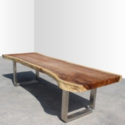 Table en bois de Suar 300cm (SUAR35-300)