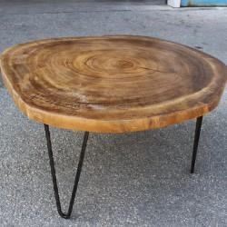 Table basse ronde en Suar Ø70 (SUAR1074)