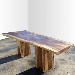 Table en bois de Suar 220cm (SUAR15-220)