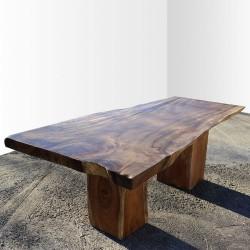 Table en bois de Suar 220cm (SUAR16-220)