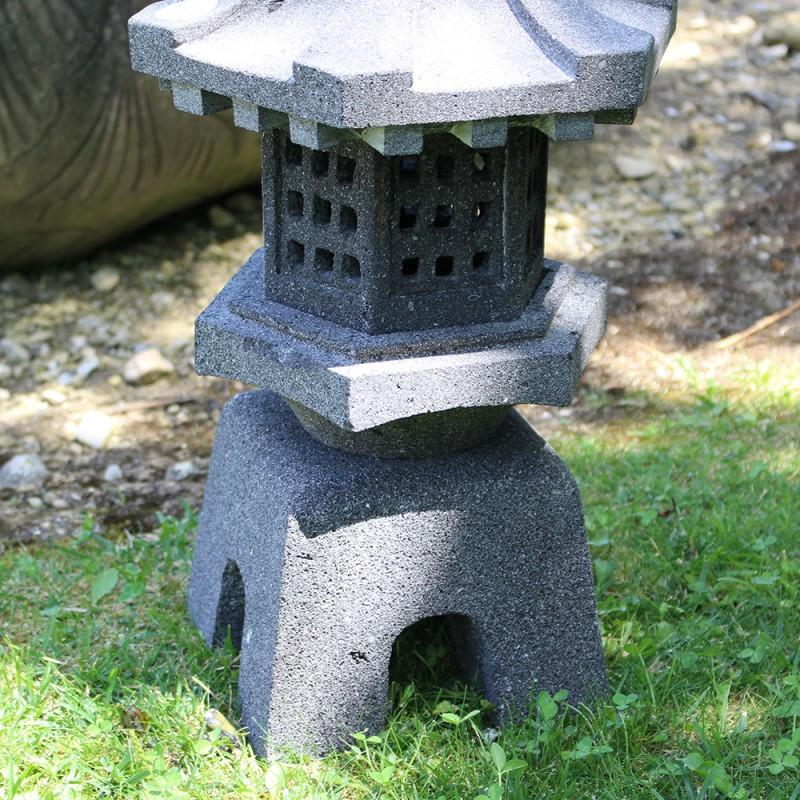 japonaise en de lave noir lj n01