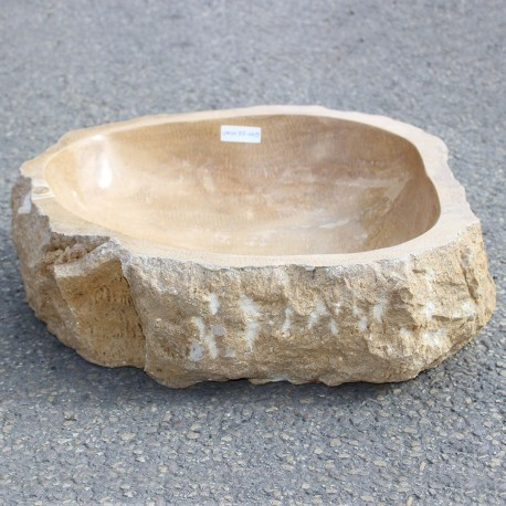 Vasque à poser en onyx 49-45 cm (ONYX55-009)