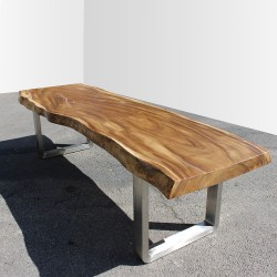 Table en bois de Suar 300cm (SUAR39-300)
