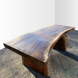 Table en bois de Suar 220cm (SUAR17-220)