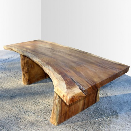 Table en bois de Suar 220cm (SUAR18-220)