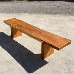 Remaquable banc en bois de Suar 200 cm (BSUAR200-011)