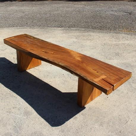 Banc en bois de Suar 200 cm (BSUAR200-015)