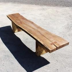 Banc en bois de Suar 220 cm (BSUAR220-018)