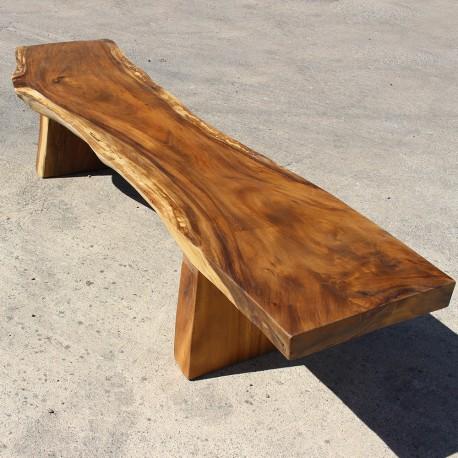 Banc en bois de Suar 220 cm (BSUAR220-019)