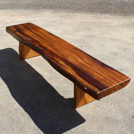 Banc en bois de Suar 220 cm (BSUAR220-021)
