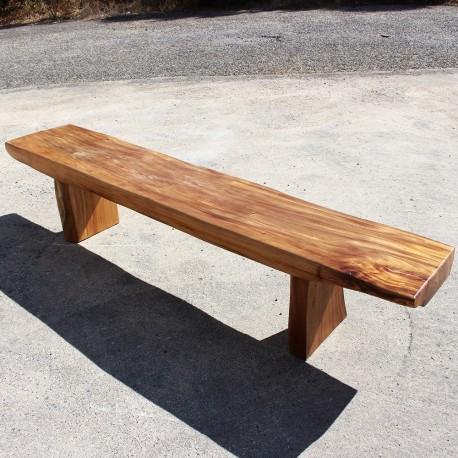 Banc en bois de Suar 220 cm (BSUAR220-022)